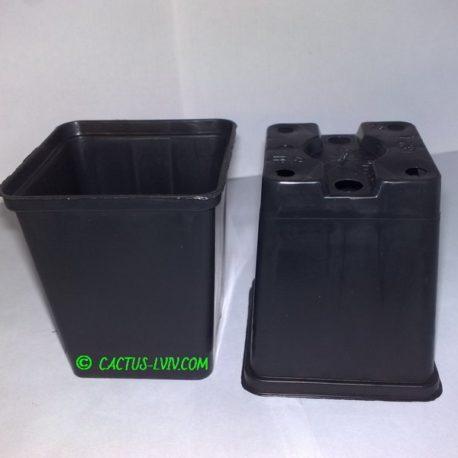 Горщики квадратні (1 шт.) для кактусів MZ Forma KW 7x7x8