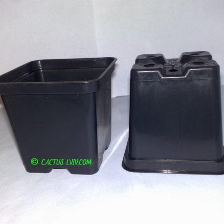 Горщики квадратні (1 шт.) для кактусів MZ Forma KW 8x8x8
