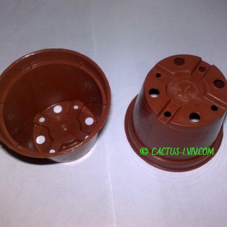 Горщики круглі (100 шт.) для кактусів MZ Forma 6×4,8